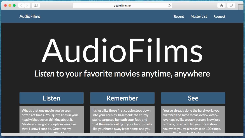 Audiofilms